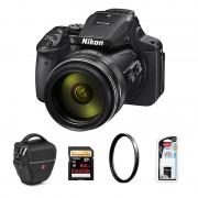 Nikon Coolpix P900 Svart Paket