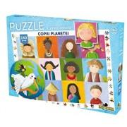 Puzzle Lumea vesela - Copiii planetei,240 piese