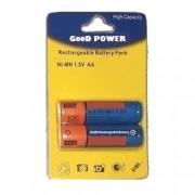 Batteria stilo AA ricaricabili Ni-MH 4800mAh