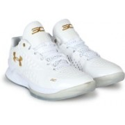 Under Armour UA CURRY 1.0 Basketball Shoes For Men(White)