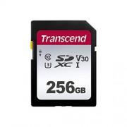 Transcend Information TS256GSDC300S-E, 256GB UHS-I U3 SD Tarjeta de Memoria