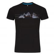 ZAJO   Bormio T-shirt S Black - Mountains