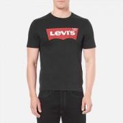 Levi's Men's Graphic Logo T-Shirt- Graphic Black - XXL - Black