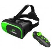 Очила за 3D Виртуална реалност + Bluetooth джойстик Esperanza EGV300R Apocalypse