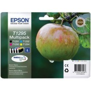 Epson T1295 Tintapatron multipack Stylus SX420W nyomtatóhoz, EPSON b+c+m+y, 32,2ml Eredeti kellékanyag