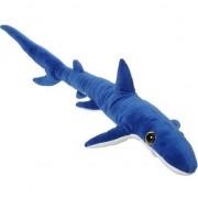 Nature Plush Planet Grote pluche blauwe haai knuffel 110 cm speelgoed - Knuffel zeedieren