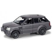 Tingoking RMZ City Die Cast Land Rover Range Rover Sport, Matte Black (5-inch)