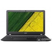 Laptop Acer Aspire ES1-533 NX.GFTEU.015, negru + Windows10, layout tastaura HU