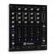 STM-7010 4-kanaals DJ-mixer USB MP3 EQ