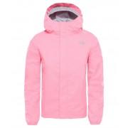 The North Face Girls Resolve Reflective Jacket Gem Pink Skaljacka Barn