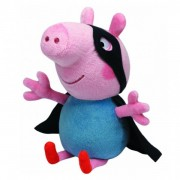 Plus Peppa Pig - George Supereroul (28 cm) - Ty