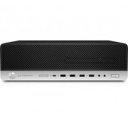 HP EliteDesk 800 G3 3,4 GHz Intel® Core™ i5 di settima generazione i5-7500 Nero, Argento SFF PC