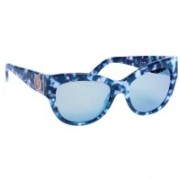 Juicy Couture Wayfarer Sunglasses(Brown, Blue)