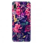 Odolné silikonové pouzdro iSaprio - Flowers 10 - Huawei Y6 2019