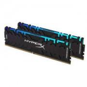 Памет Kingston HyperX Predator RGB 16GB (2x8GB) DDR4 PC4-25600 3200Mhz CL16, HX432C16PB3AK2/16