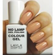 Layla - no lamp gel polish - smalto 4 lazy brown
