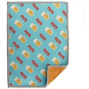 Toddy Gear Screen Cleaning Cloth for Smartphones Tablets and Glass Surfaces 5x7 Inches Beer & Bacon (BEN-C0614)