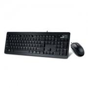 Комплект клавиатура и мишка SlimStar C130 Black USB Wird KB+Mouse Combo Chocolate keys style with softly rounded edges Slim and sleek - 31330208110