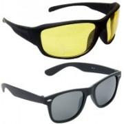 Hrinkar Sports Sunglasses(Yellow)