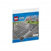 JUNTAS EN T Y CURVAS LEGO 7281
