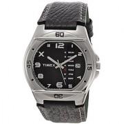 Timex Fashion Analog Black Dial Mens Watch - El03
