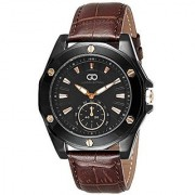 Giordano Quartz Black Dial Mens Watch-G1003-05
