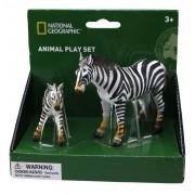 Set 2 figurine Zebra National Geographic, 3 ani+