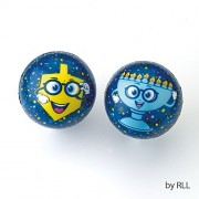 Hanukkah Stress Balls for a Fun and Stress Free Chanukah - Set of 4 by Judaica Mega Mall