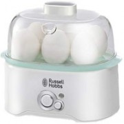 Russell Hobbs Egg Cooker Electric Steam Boiler 1 Egg Cooker Egg Cooker(White, 6 Eggs)