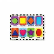 Puzzle relief Forme geometrice