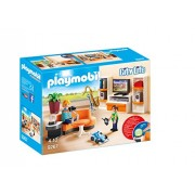 PLAYMOBIL Living Room Set Building