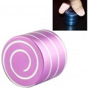 Dynamic Desktop Toy Reductor De La Tension De Aleacion De Aluminio Anti - Ansiedad Spinning Toy (rosa)