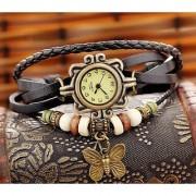 Kayra Women Leather Vintage BRACELET WATCH Latest Fashion WOMEN WATCHES