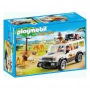 Playmobil Wildlife Safari Truck With Lions 6798