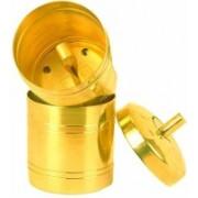 SVA South Indian Drip Style Pure Brass Coffee Filter 350 ml Indian Coffee Filter(300 ml)