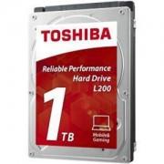 Твърд диск Toshiba L200 - Mobile Hard Drive 1ТB (5400rpm/8MB), BULK - HDWJ110UZSVA