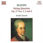J. Haydn - String Quartets Op.17 Nos (0730099585323) (1 CD)