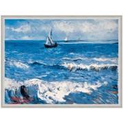 Tablou Van Gogh Peisaj marin inramat