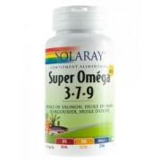 Solaray Super Omega 3-7-9 60 Softgels - Caja 60 cápsulas