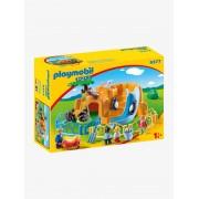 Playmobil 9377 1.2.3 Zoo, da Playmobil bege escuro liso