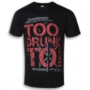 """póló férfi Dead Kennedys """"Too Drunk to Fuck""""""""- PLASTIC HEAD - PH7134"""