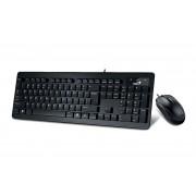 Kit tastatura si mouse Genius SlimStar C130 cu USB