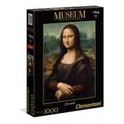 Clementoni Jigsaw Puzzle - Museum Collection - Leonardo Mona Lisa Louvre - 1000 Pieces