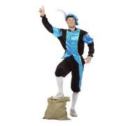 Geen Carnavalskostuum Blauwe zwarte pieten kostuum budget