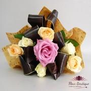 "Buchet trandafiri ""Pastel"""