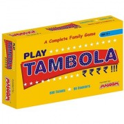 Tambola 2-in-1 Game Multi Color Gifts for Boys Girls of Ages 5 Years + kidsplay