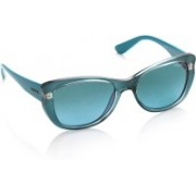 Vogue Rectangular Sunglasses(Blue)