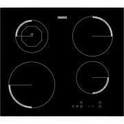 Plita cu inductie incorporabila Zanussi ZEI6840FBA, Latime 60 Cm, Control Prin Atingere, 4 Zone De Gatit, Indicator Caldura Reziduala, Booster, Negru