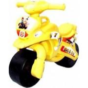 Motocicleta de curse Doloni cu minioni cu sunete si lumini crem