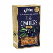 Life Crackers crus Olives